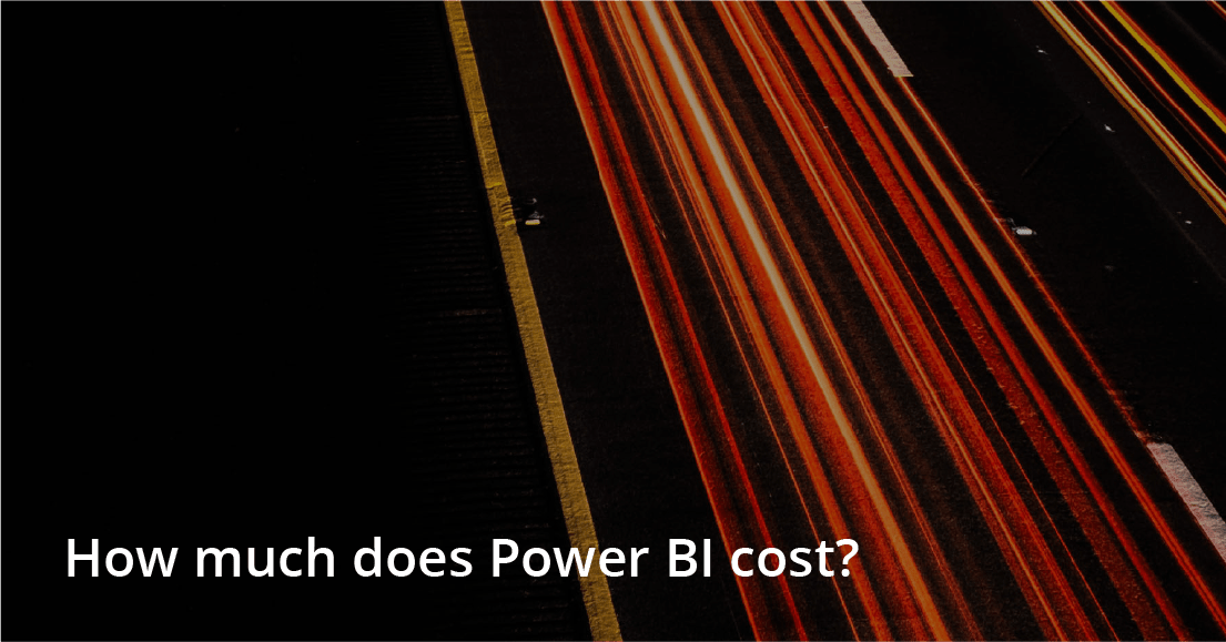 How much does Power BI cost